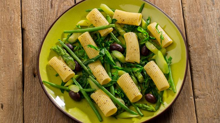 ensalada de pasta con judias verdes_730x410