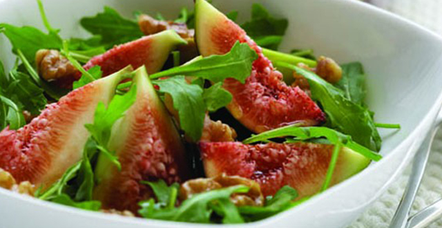 Fig, Walnut and Rocket Salad