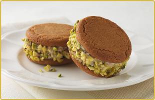 Pistachio Sandwiches