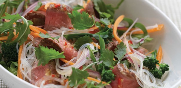 Chilli, Lime and Beef Noodle Salad