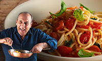 Gennaro's Spaghetti with Tomato Pasta Sauce