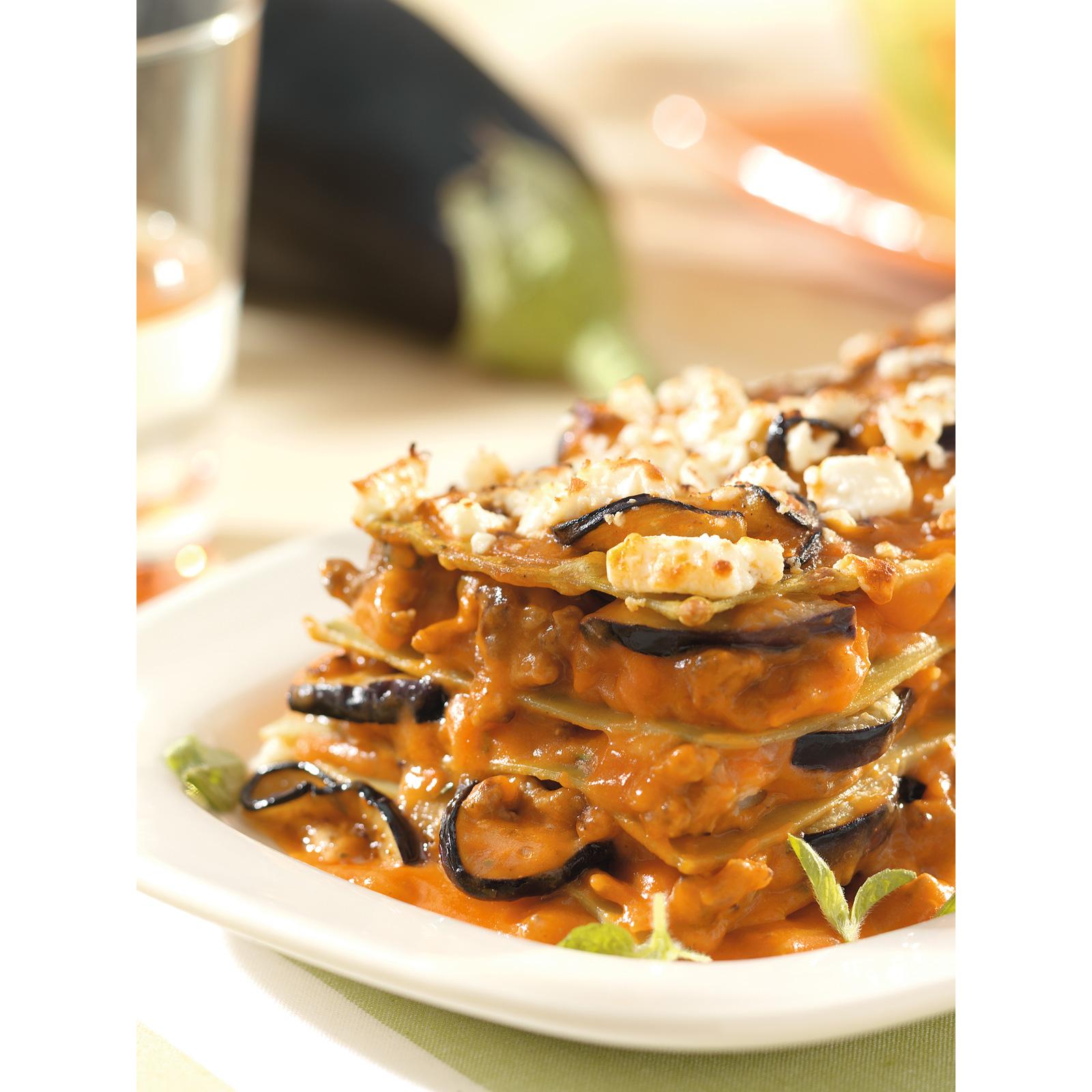 Griekse lasagne