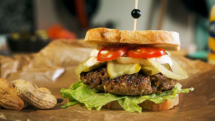 Cacahuetera Burger