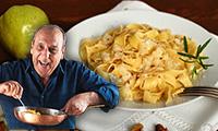 Genarro Contaldo's Quick and Simple Tagilatelle with Pancetta Recipe