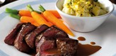 Venison Steaks with Juniper and Orange