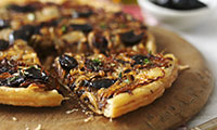 French Olive, Thyme & Onion Tarte Tatin