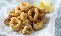 Crispy Squid with Easy Garlic & Paprika Mayo