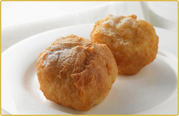 Deep Fried Amaretto Balls